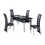 Dining Table with Black Trim