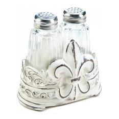 Fleur-De-Lis Shaker Set