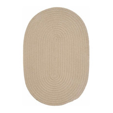 Colonial Mills, Inc - 10 Ft. Round Rug ,Cuban Sand Textured Braided   by Super Area Rugs - Outdoor Rugs
