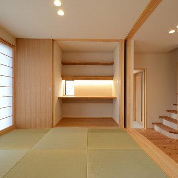 三方原の家(静岡県浜松市)タタミスペース