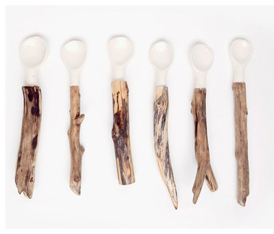 Rustic Spoons by Poketo