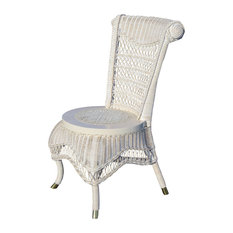 Classic Side Chair in White Wash
