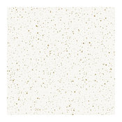 Spatter, Self-Adhesive Removable Wallpaperd., Gold on White, 56.37 Sq. Ft.