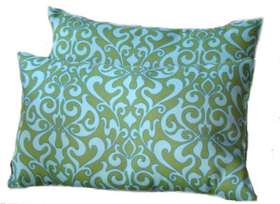 contemporary outdoor cushions and pillows by etsy - Home Decorators Outdoor Cushions