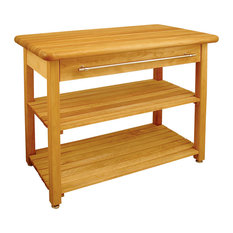 Catskill Craftsmen   Contemporary Harvest Table   Kitchen Islands And  Kitchen Carts