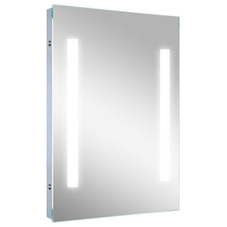 Modern Bathroom Mirrors by Lighted Image
