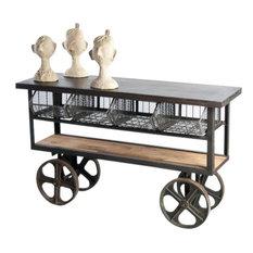 MERCATO Cart Vintage Industrial Steel