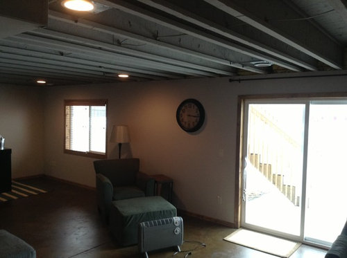 How To Cover Insulation In Basement Gorgeous Basement Lighting Design Exterior