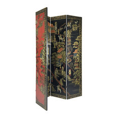 Hand Painted Double Side Room Divider