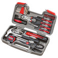 Apollo Tools 39 Piece General Tool Set, Red