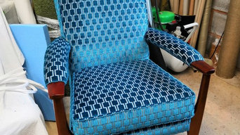 Reupholstery of Parker Knoll Chair