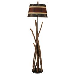 Rustic Floor Lamps by Coast Lamp Mfg., Inc.