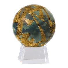 "MOVA 6"" Titan Revolving Globe With Medium Crystal Base"