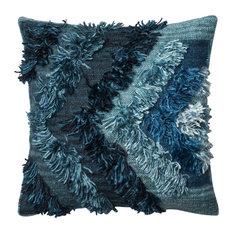 "Loloi x Justina Blakeney Atlantic Pillow, 22""x22"", Poly Insert"