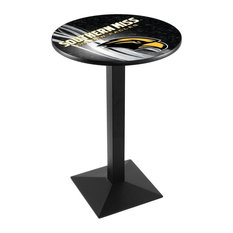 Southern Miss Pub Table 36-inchx36-inch by Holland Bar Stool Company