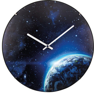 Dome Wall Clock, Globe