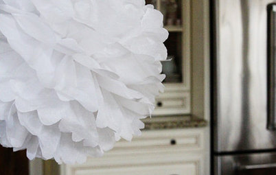 Handmade Home: The Paper Pompom