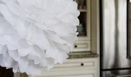 Handmade Home: The Paper Pompom
