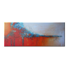 "Abstract Modern Fine Art Limited Edition Giclee, ""Calypso"""