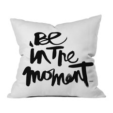 Kal Barteski Be In The Moment Outdoor Throw Pillow