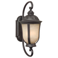 Frances II 2 Light Outdoor Wall Light in Oiled Bronze