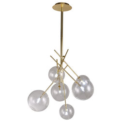 Midcentury Chandeliers by Contempo Lights