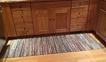 Kitchen cotton rag rug