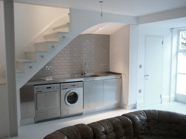 Traditional Laundry Room by Nicholas Lee Architects