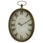 IMAX Worldwide Home - Toledo Wall Clock - *Please Note*