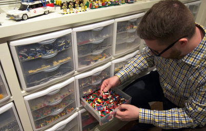 Houzz TV: This Guy's Giant Lego Collection Proves Everything Is Awesome