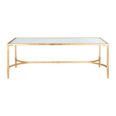 gold coffee tables | houzz