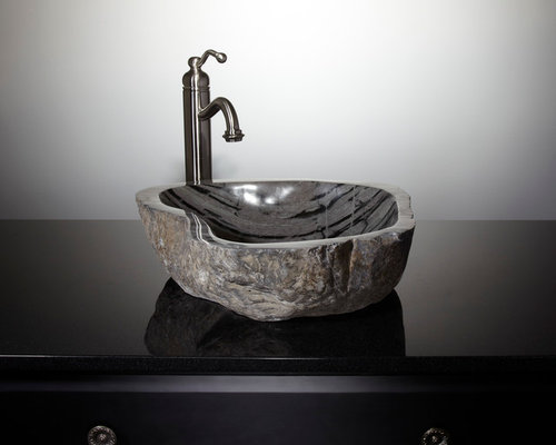 Genial Natural Stone Vessel Sinks