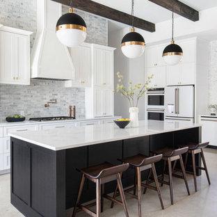 Transitional kitchen photo in Austin