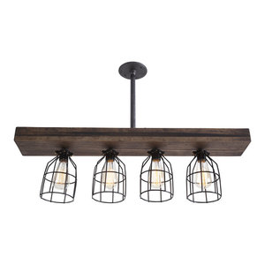 5 Light Glass Mason Jar Hanging Ceiling Pendant Kitchen