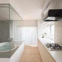 ちょっと癖のあるバスルーム