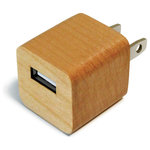 ILoveHandles - Lumberjack - Remember when all electronics were enclosed in wood? No? Well, neither do we, but we've seen plenty of them on The Wonder Years and Mad Men. So we took your humble little USB adapter and made it out of wood.