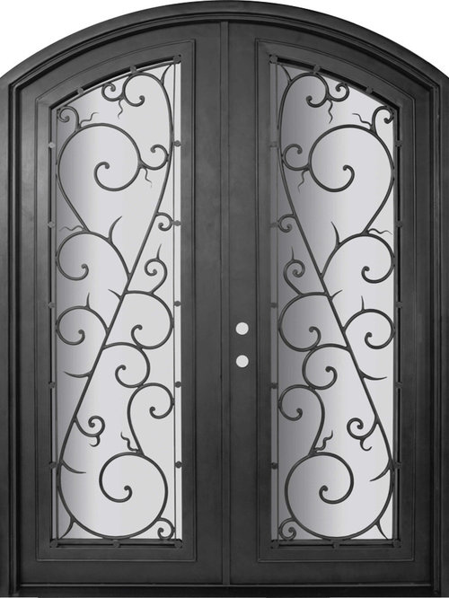 Forged Iron Doors