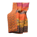 Royal Empire Throw, Tangerine