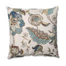 """Finders Keepers Blue 18"""" Throw Pillow"""