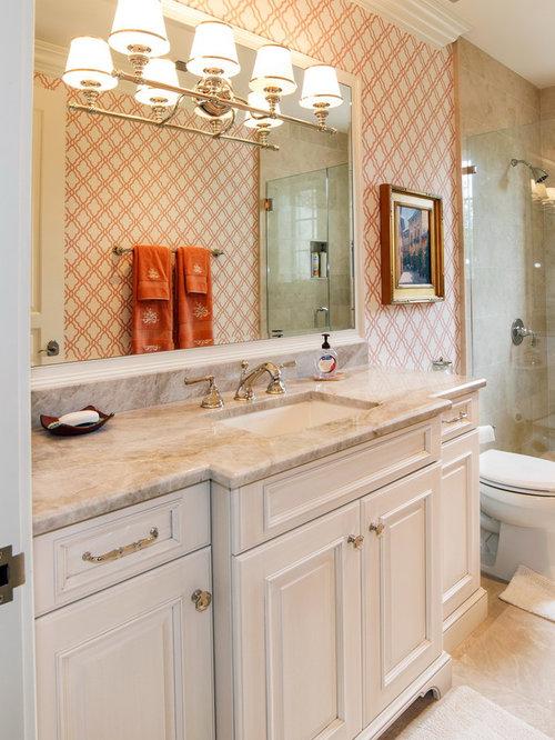 Taj Mahal Premium Quartzite Bathroom Countertop
