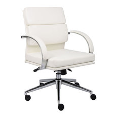 Boss Office Products   Boss Chairs Boss B9406 WT Caressoftplus Executive  Chair   Office Chairs