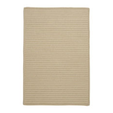 Colonial Mills, Inc - Simply Home Solid Rug, Linen, 10'x13' - Outdoor Rugs