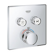 Grohtherm SmartControl Dual Function Thermostatic Trim With Control Module