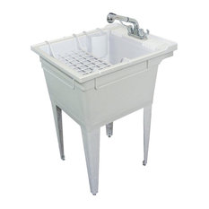 Presenza Deluxe Utility Sink And Storage Cabinet : ... Sinks. Utility Sinks With Cabinet. Image Of Laundry Sink Cabinet