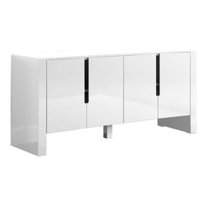 Nathan White Lacquer Sideboard
