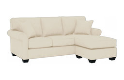 Lafayette Reversible Chaise Sofa, Buckwheat