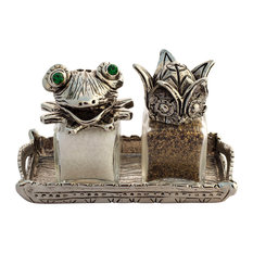 Frog and Prince Salt and Pepper Shakers