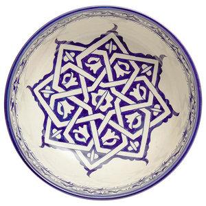 Fez Star Salad Bowl, 25x11 cm