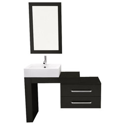 Awesome Modern Bathroom Vanities And Sink Consoles by BathGems