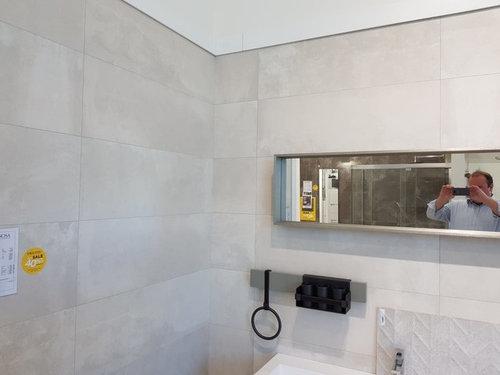 Bathroom tiles - full or half height?   Houzz UK